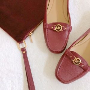 michael kors loafers driving shoes